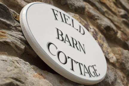 Signage at Field Barn Cottage